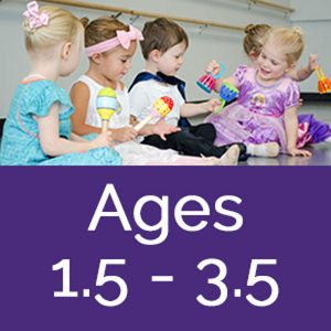Dance Arts in Mahogany Dance Class Ages 1.5-3.5