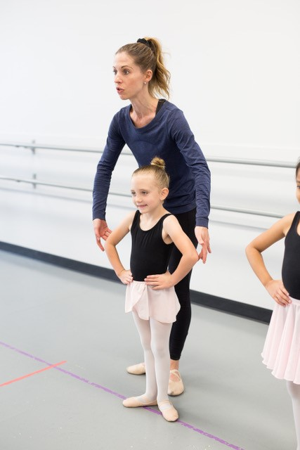 Diana with student Dance Arts