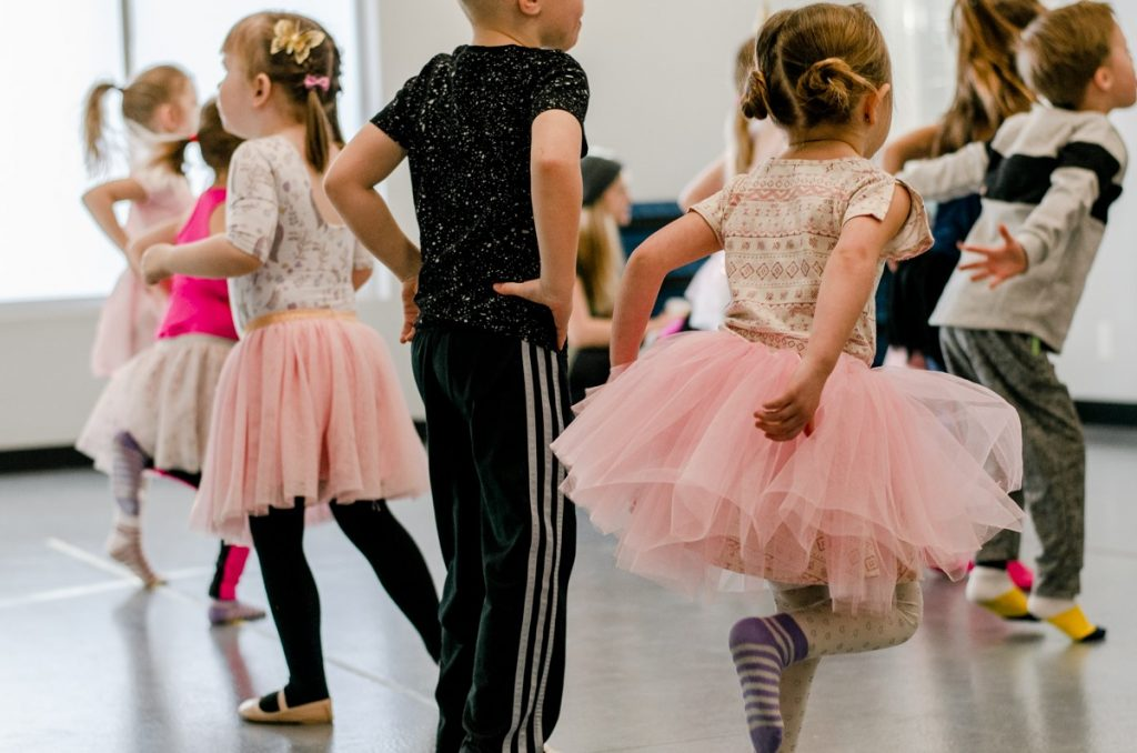 kids dance birthday party